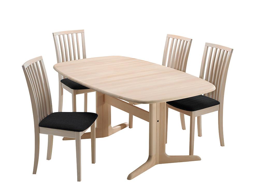 Image of   Skovby SM75 bord og 4 SM66 stole