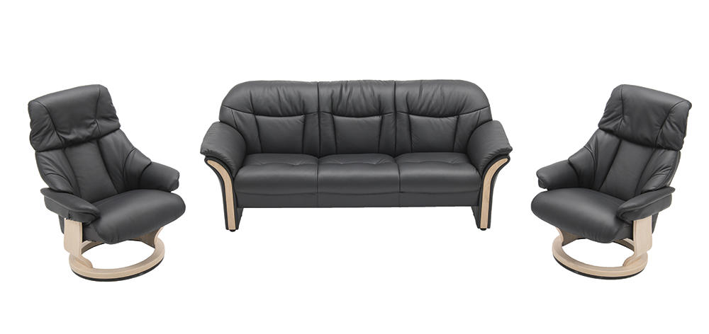 Image of   Chicago sofa og 2 lænestole
