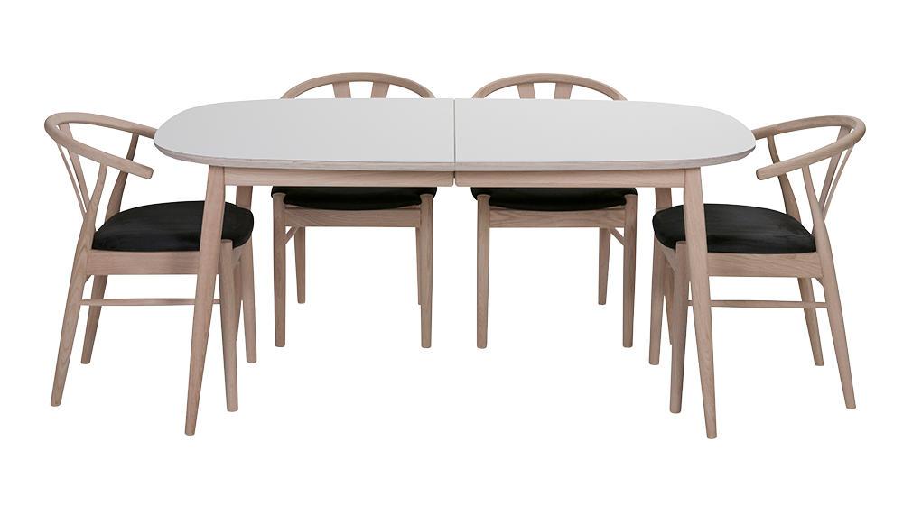 Image of   Haslev spisebord med laminat