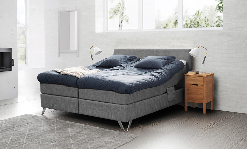 Image of   Jensen Ambassadør Aqtive 1 boxelevation med Softline 3 120x200