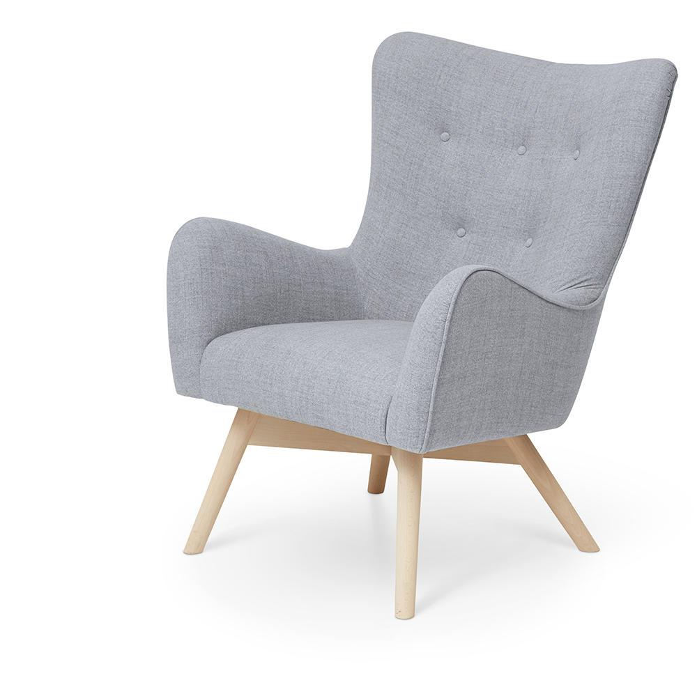 Image of   Tango grå lænestol