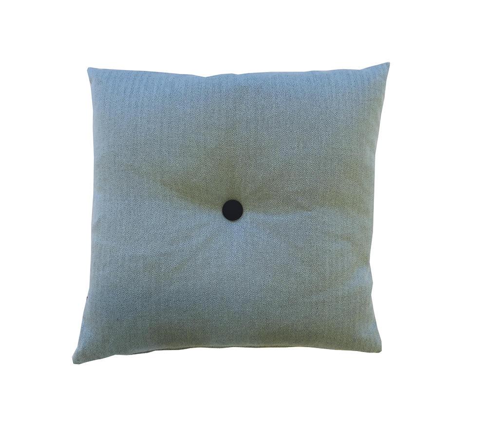 Image of   Mint pyntepude med knap