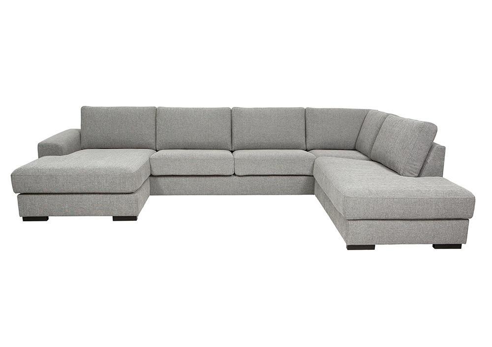 Malmø sofa med chaiselong og open end