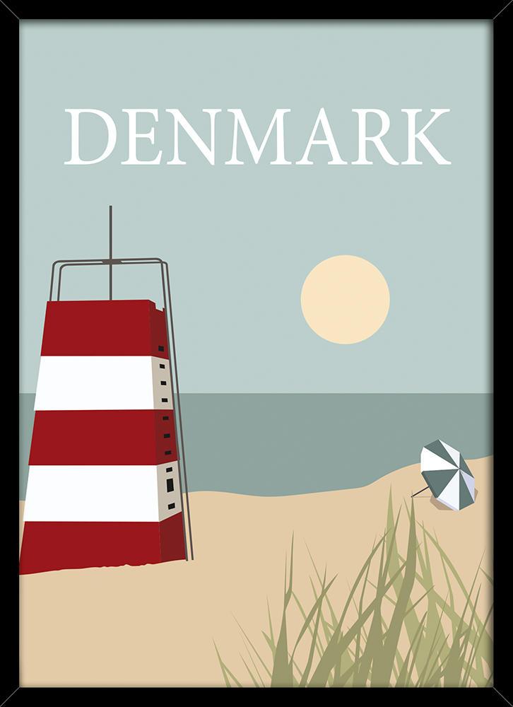 Image of   Denmark tower plakat
