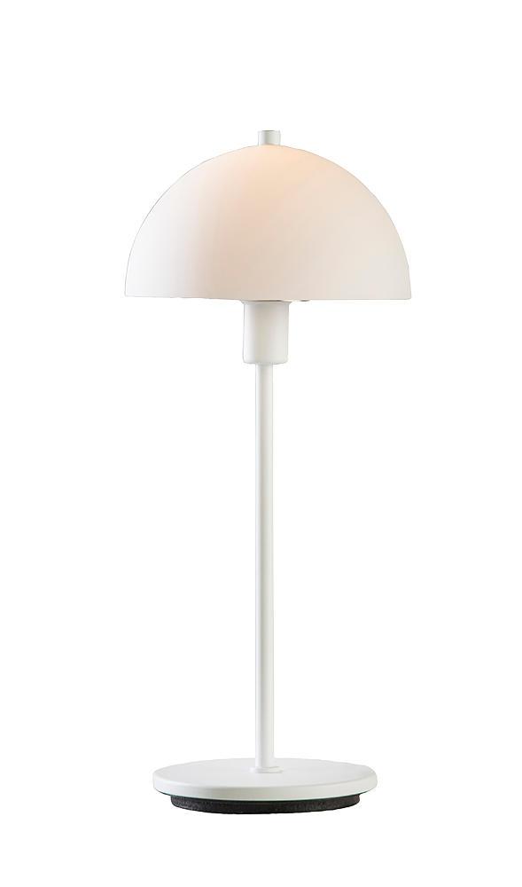 Billede af Vienda X hvid bordlampe