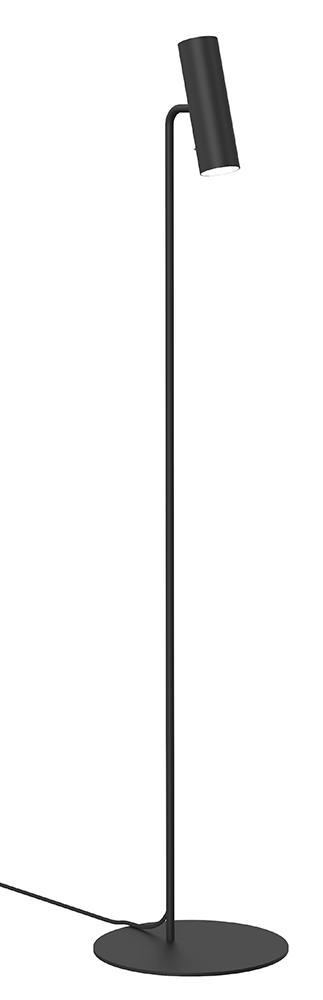 Mib 6 sort gulvlampe