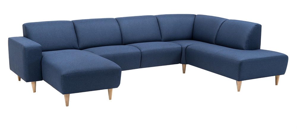 Image of   Amalfi hjørnesofa med chaiselong og open end