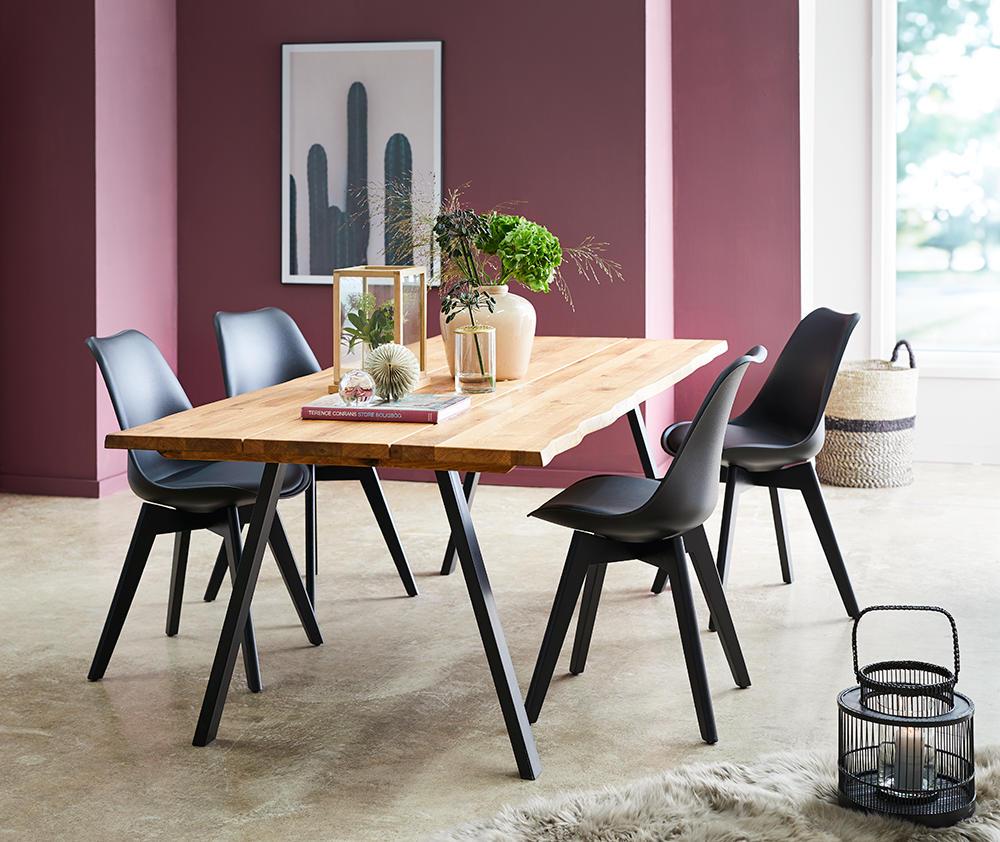 Image of   Blokhus bord og 4 Mille stole