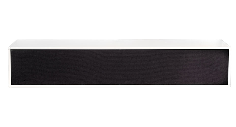 Square hvidt tv- bord