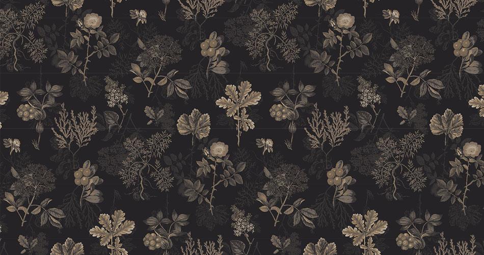 Raw Nordic Flora tæppe