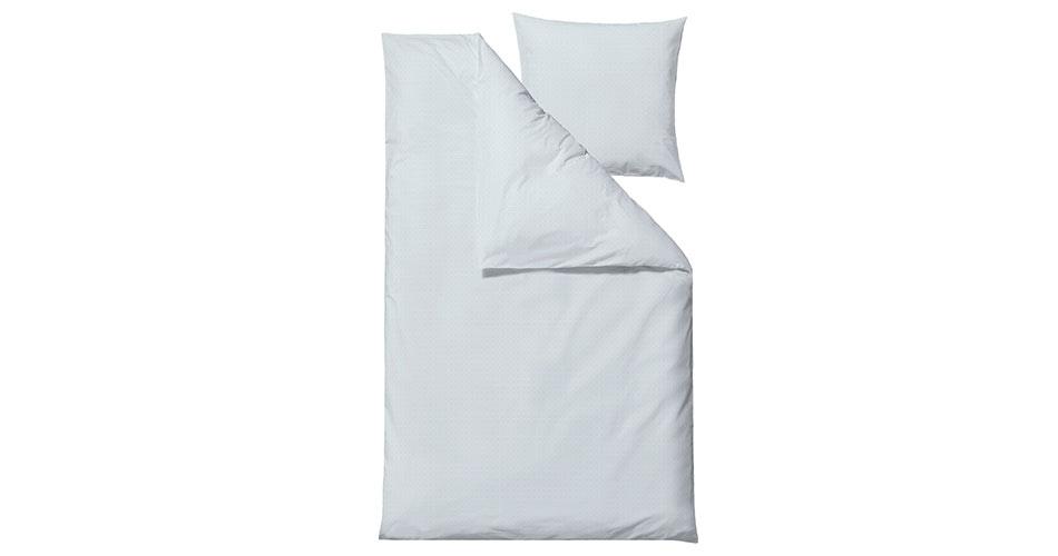 Södahl Edge sengetøj linen blue