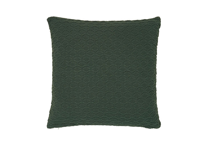 Image of   Södahl Deco Knit pude Deep Green