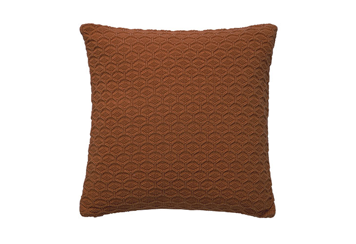 Image of   Södahl Deco Knit pude terracotta