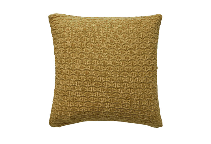 Image of   Södahl Deco Knit pude golden