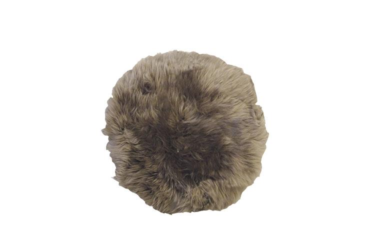Image of   Rundt mushroom lammeskindssæde