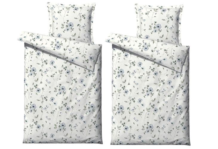 Södahl In Bloom sengetøj 2 sæt linen blue