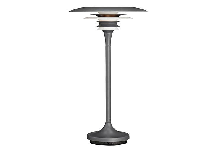 Image of   Diablo oxidgrå bordlampe