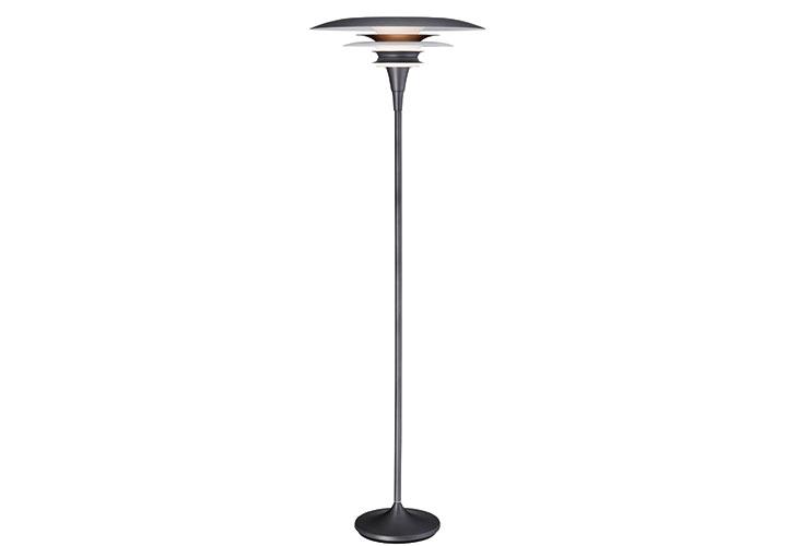 Image of   Diablo oxidgrå gulvlampe