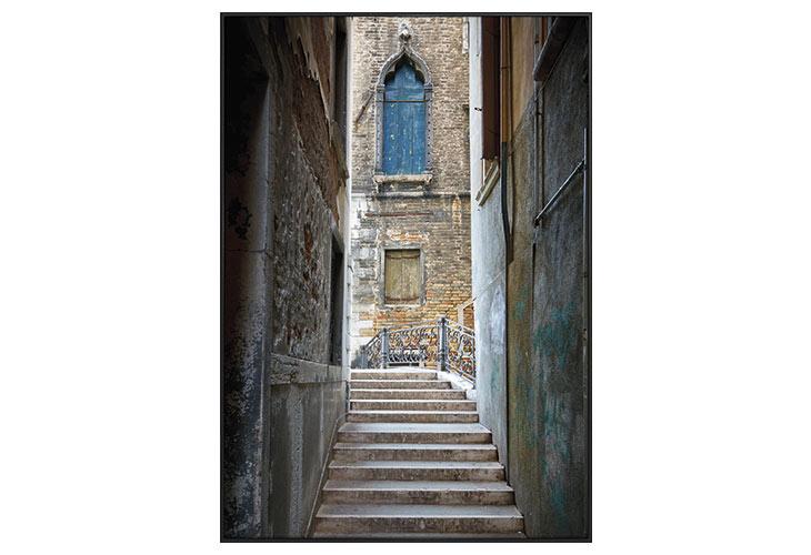 Image of   Venice stairs lærredstryk