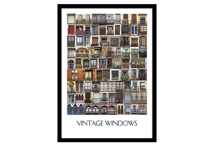 Image of   Windows plakat