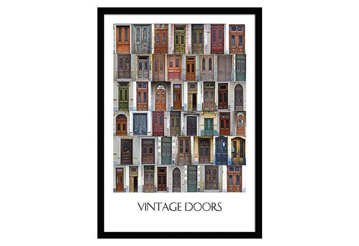 Image of   Vintage Doors plakat