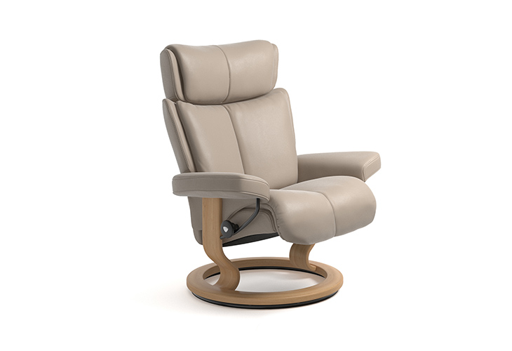 Image of   Stressless Magic lænestol med Classic stel