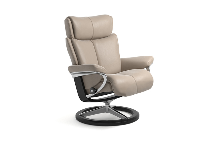 Image of   Stressless Magic lænestol med Signature stel