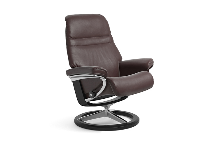 Image of   Stressless Sunrise lænestol med Signature stel
