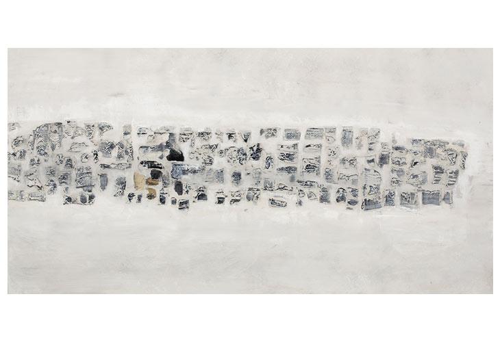 Image of   Transition håndmalet maleri