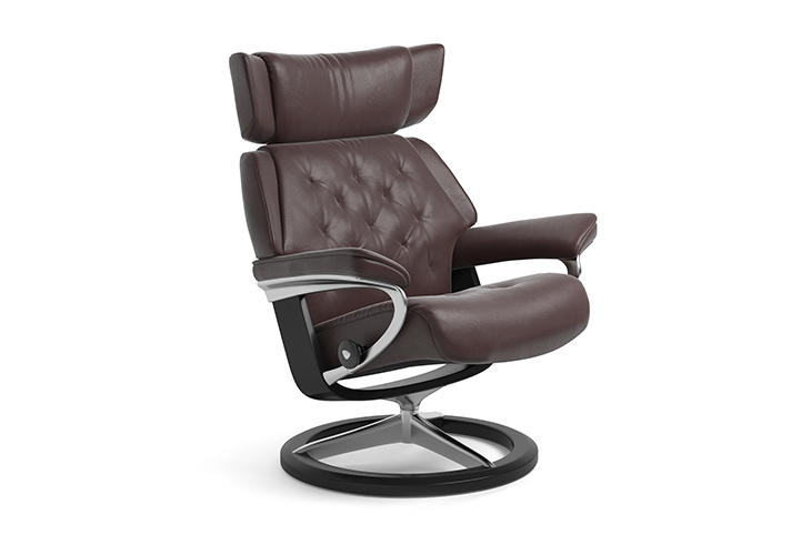 Image of   Stressless Skyline lænestol med Signature stel