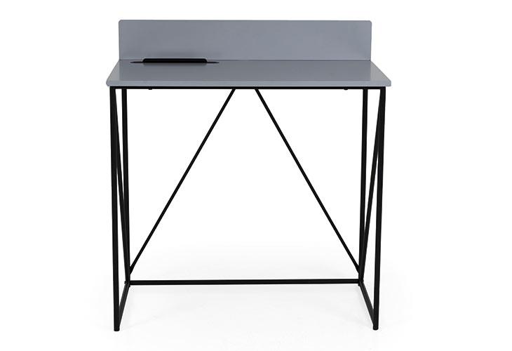 Tell mørkegrå skrivebord