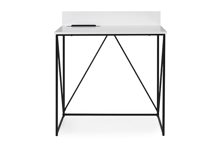 Tell hvidt skrivebord