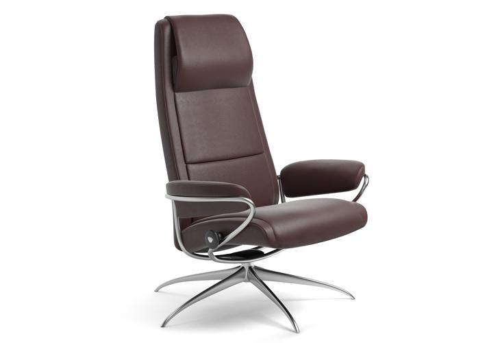 Image of   Stressless Paris lænestol med høj ryg