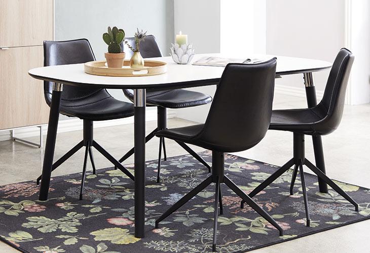 Image of   Pippolo bord og 4 Firenze stol