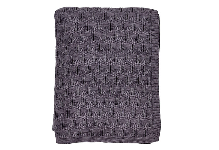 Image of   Södahl Deco Knit plaid lavender