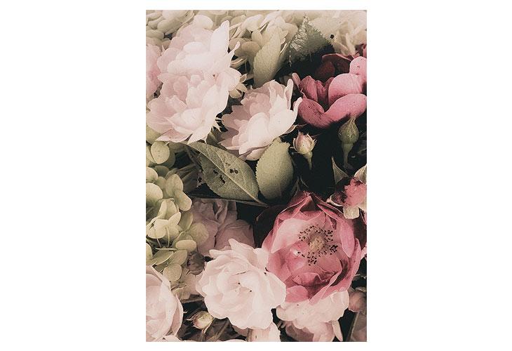 Billede af Bella Bouquet canvas billede