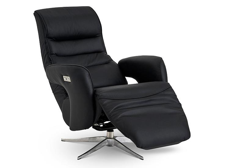 Image of   Global Comfort Toronto lænestol med indbygget fodskammel