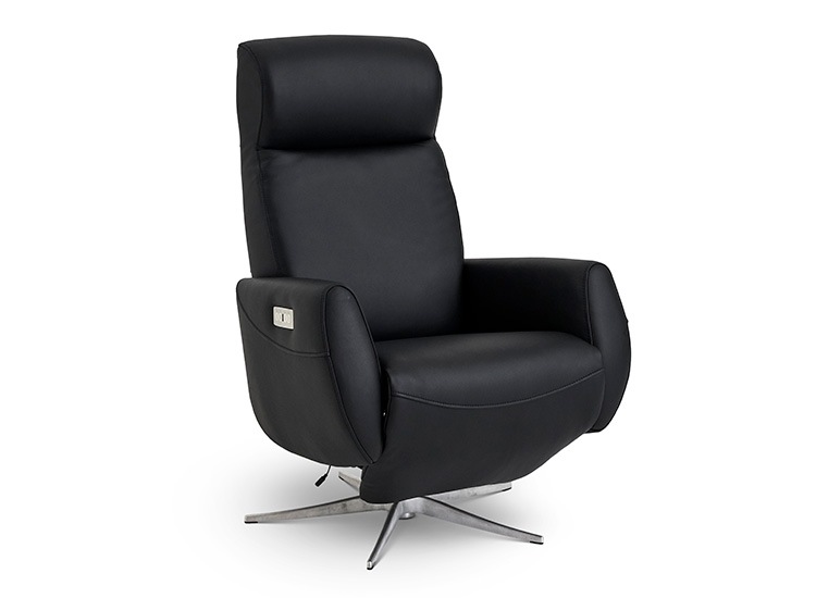 Image of   Global Comfort Tokyo lænestol med indbygget fodskammel