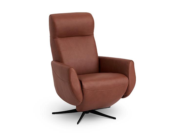 Image of   Global Comfort Sidney lænestol med indbygget fodskammel