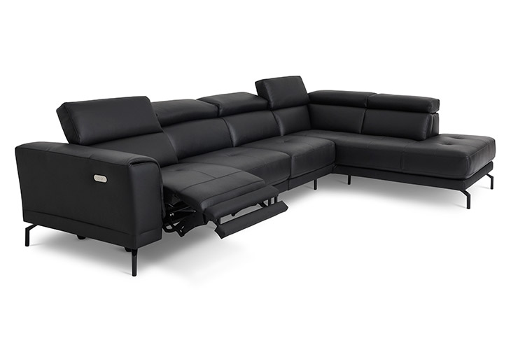 Mantova U144 sofa med højrevendt open end