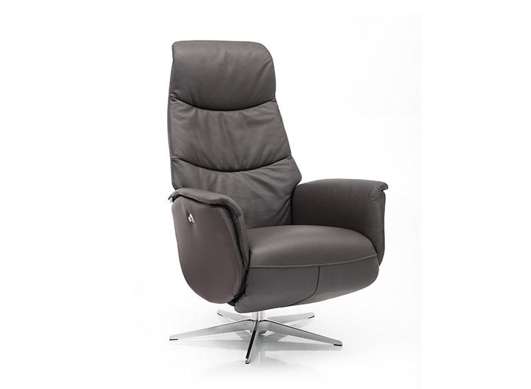 Image of   Global Comfort Portland 5077 lænestol med indbygget fodskammel