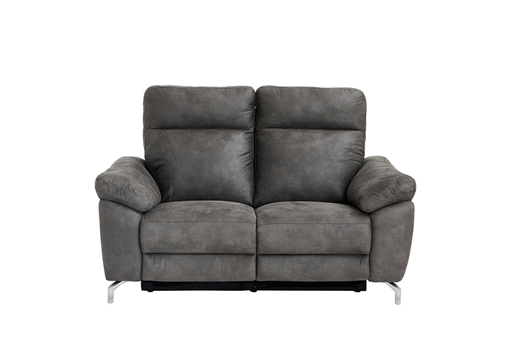 Image of   Dallas 2 pers. grå sofa