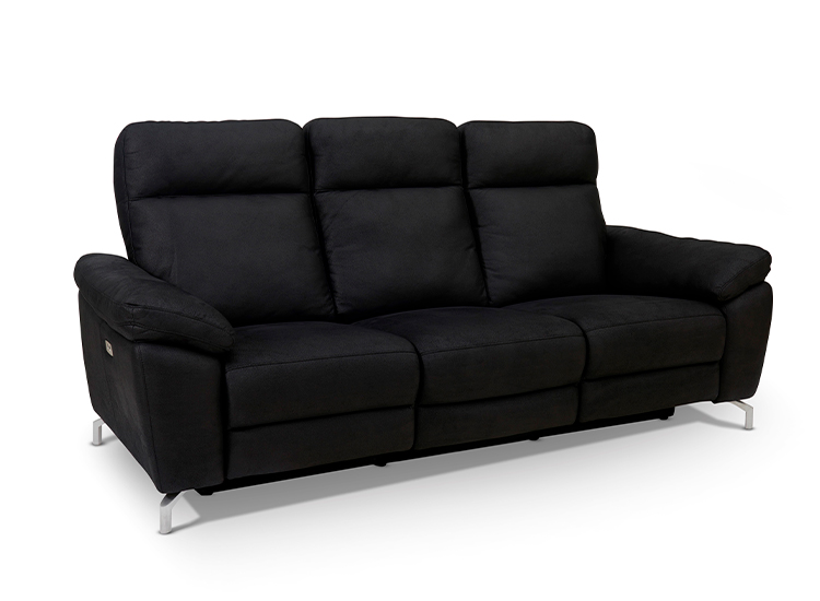 Image of   Dallas 3 pers. sofa sort
