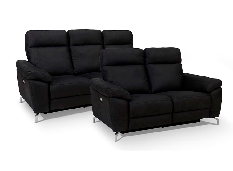 Image of   Dallas 3+2 pers. sofa sort