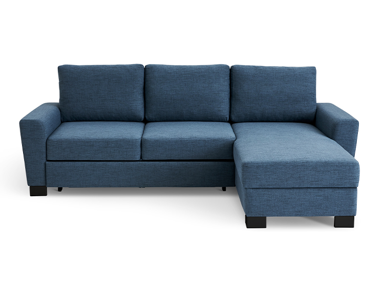 Image of   Als 2 pers. sovesofa med chaiselong