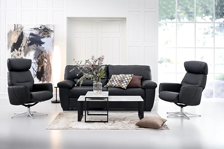 Image of   Manzano 3 pers. sofa og 2 stk Stockholm lænestole