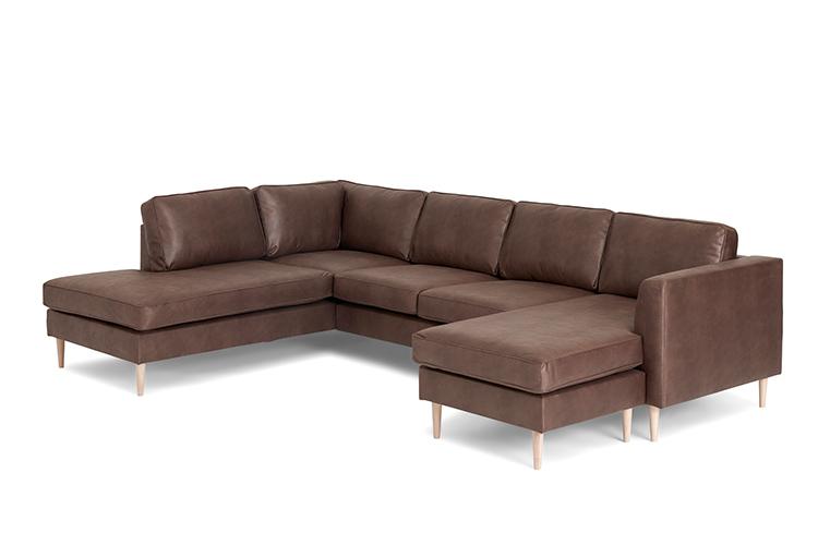 Houston sofa med open end og chaiselong